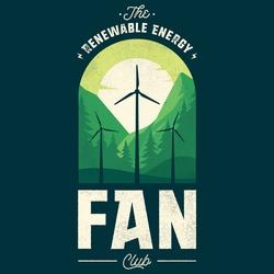 The Fan-tastic Renewable Energy Fan Club