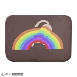 cat under the rainbow