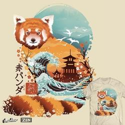Ukiyo e Red Panda