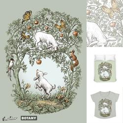 Little goats, apple trees and butterflies