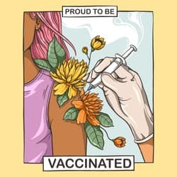 Proud To Be Vaccinated