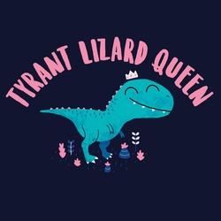Tyrant Lizard Queen