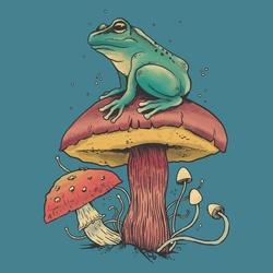 Mushroom Frog