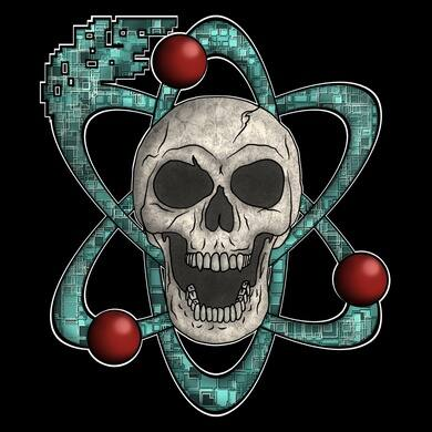 Pixelated Atoms Logo