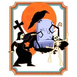 Nun Dancing with the Death