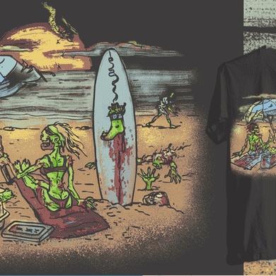 Dead Island Zombies Beaching It