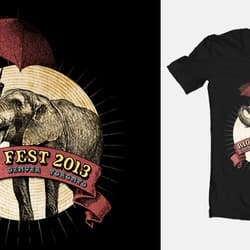 Riot Fest Elephant