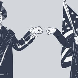 Fist Bump for Liberty