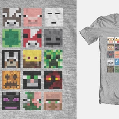 Faces of Minecraft