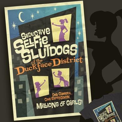 Seductive Selfie Slutdogs of the Duckface District