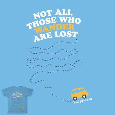 Those Who Wander...