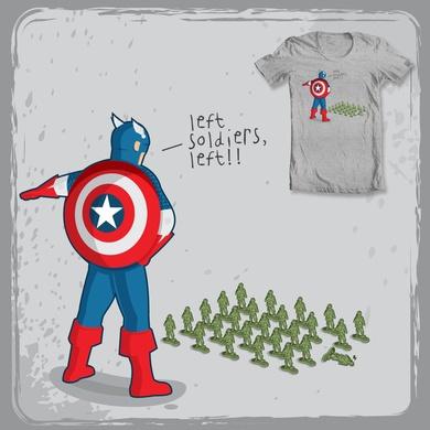 Left soldiers, left!!