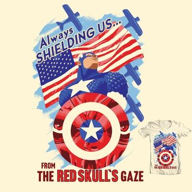 The Red Skull's Gaze