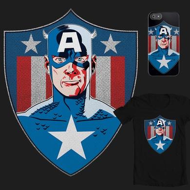 Captain's Retro Shield