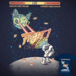 Mr Mittens VS funky spaceman