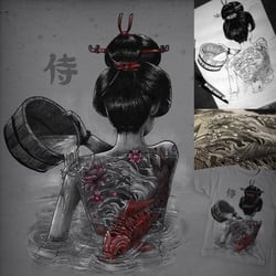 Geisha Bathing