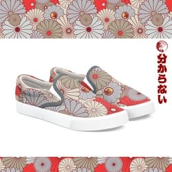 Gokudo Flowers Shoes Wakaranai