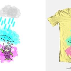 is it monster under un umbrella???