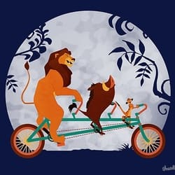 Lion Biking