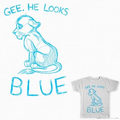 He Looks Blue