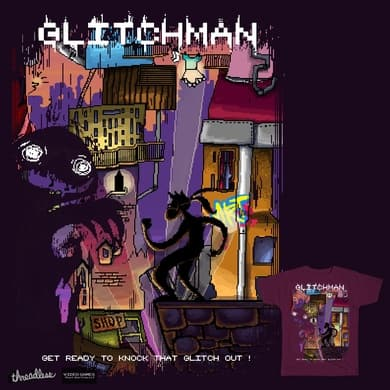 Glitchman - Get ready to knock that Glitch out!