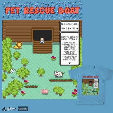 Pet Rescue Boat