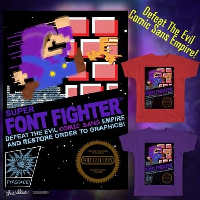 Super Font Fighter