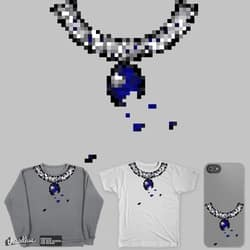 beat 8 bit necklace