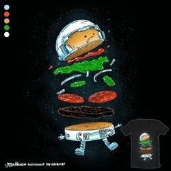 The Burger Astronaut