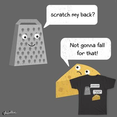 Scratch my back?