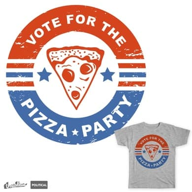 Vote for the Pizza Party