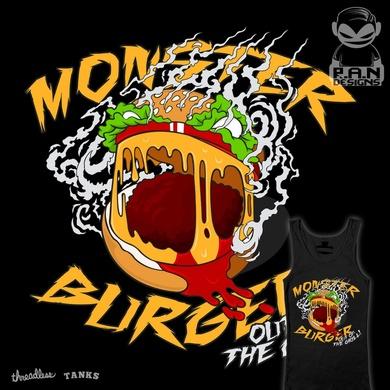 MONSTER BURGER!!
