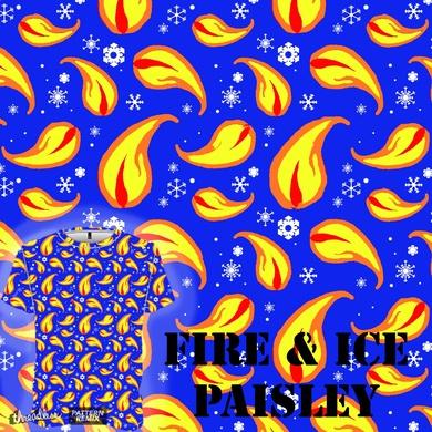 Fire & Ice Paisley