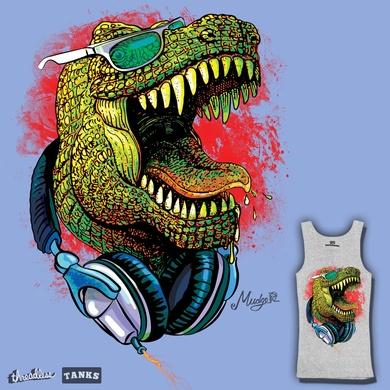 Summer T-Rex Dude