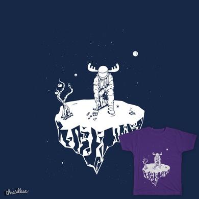 Mars moose astronaut