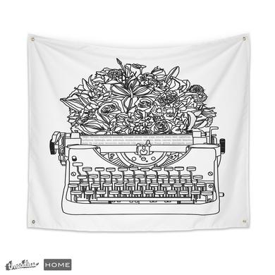 Typewriter Bouquet
