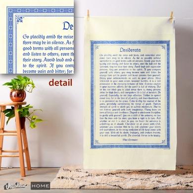 Desiderata Wall Hanging Tapestry