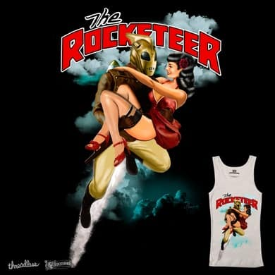 Rocketeer and Betty