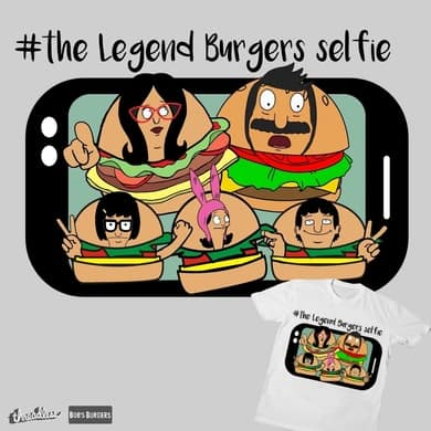 #The Legend Burgers Selfie