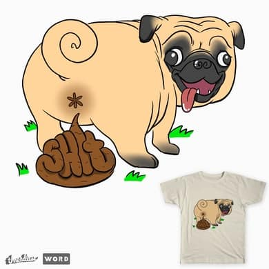 Oh shit! a butt pug!