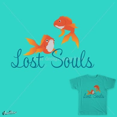 Two Lost Souls Swimming In A Fish Bowl