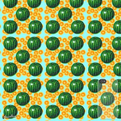 Watermelon loves lemon