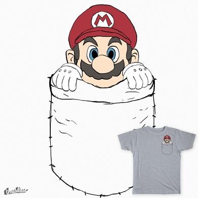 Mario in a Pocket
