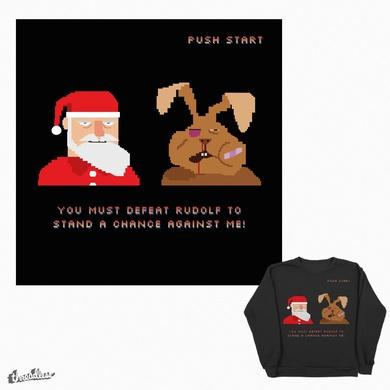 Santa wins