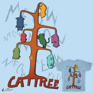 The Cat Tree Tee