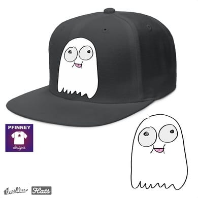 ghost on a hat