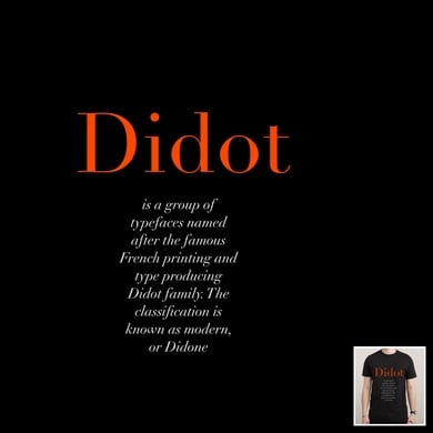 Didot (typeface)
