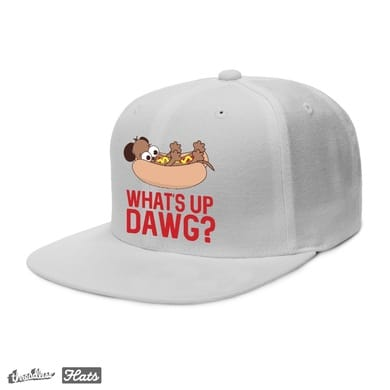 What's Up Dawg? Hat Design