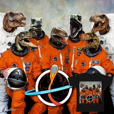 Dinosaurs... IN SPACE!
