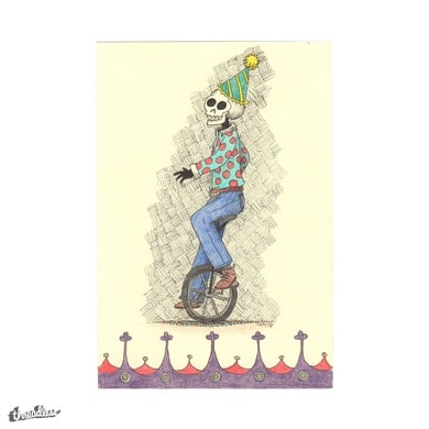 Unicycle Skeletal